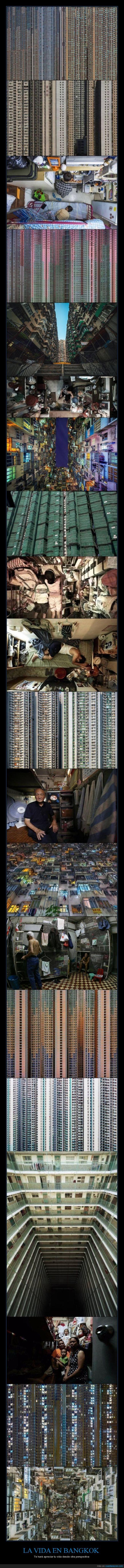 apartamento,Bangkok,casa,condiciones,edificio,habitación,impensable,lleno,locura,vida