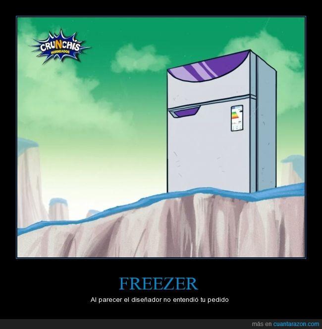 congelador,dragon Ball,Freezer,nevera