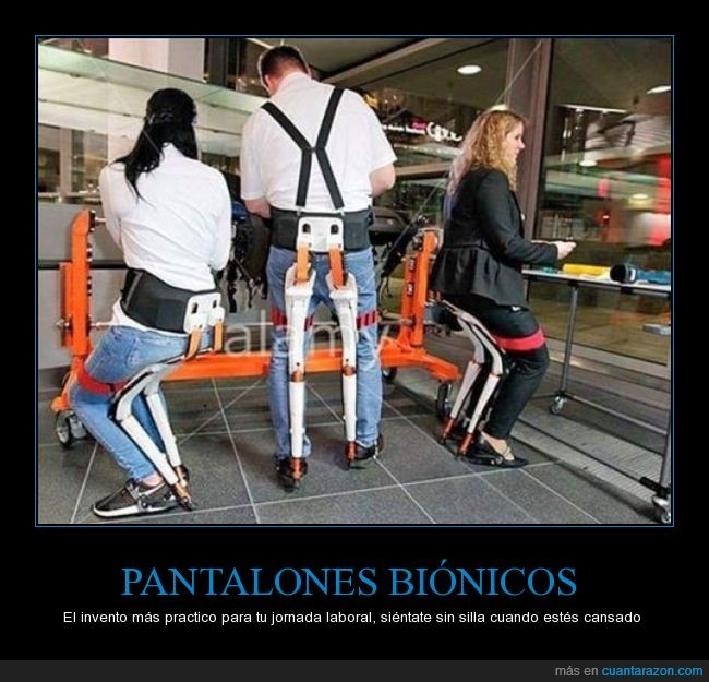 bionic pants,dia 47 sin trabajo,jornada laboral