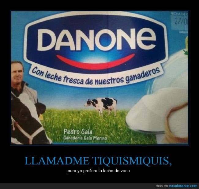 danone,ganaderos,leche,mal mensaje,mal rollo,vaca