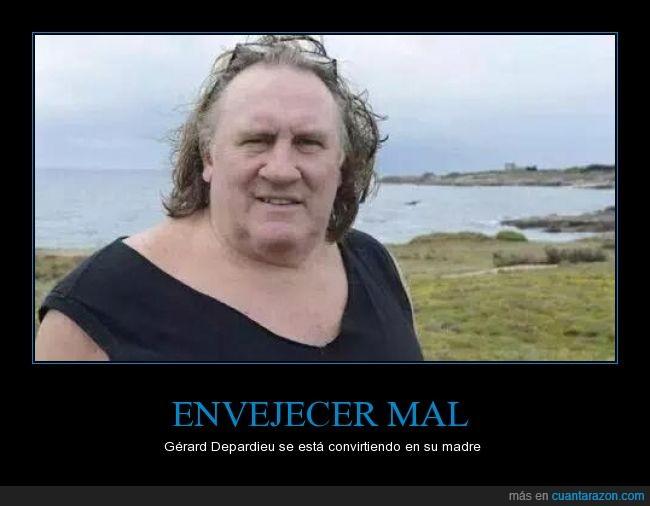abuelo,envejecer,francés tenía que ser,gerard Depardieu,mal cuidado,viejo