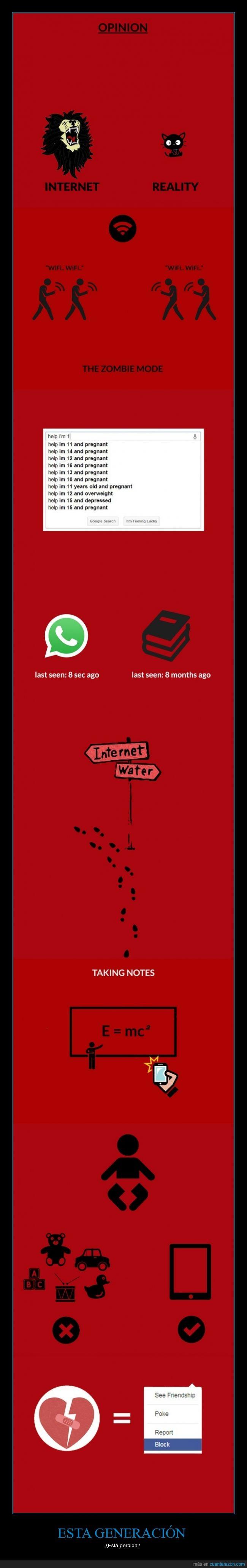 adicta a las tecnologías,adolescente,evolución,generación perdida,infancia,jóvenes,millenials,todo en el móvil,triste