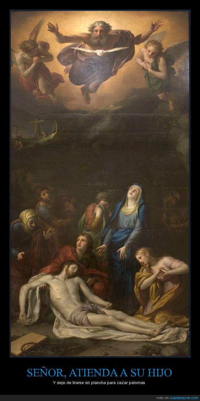 chistaco,cuadro,dios,jesucristo,palomas,representación