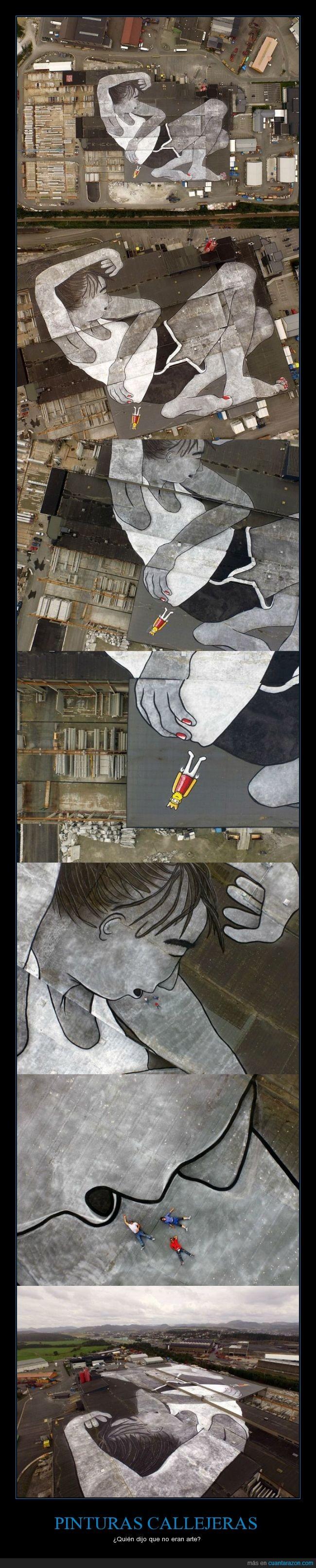 chica,dibujo,Ella & Pitr,espectacular,mural,noruega,personas