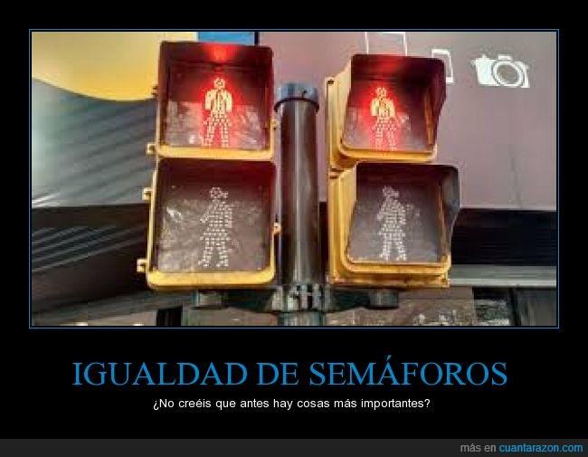 Argentina,estupidez,feminismo,mujeres,semáforos