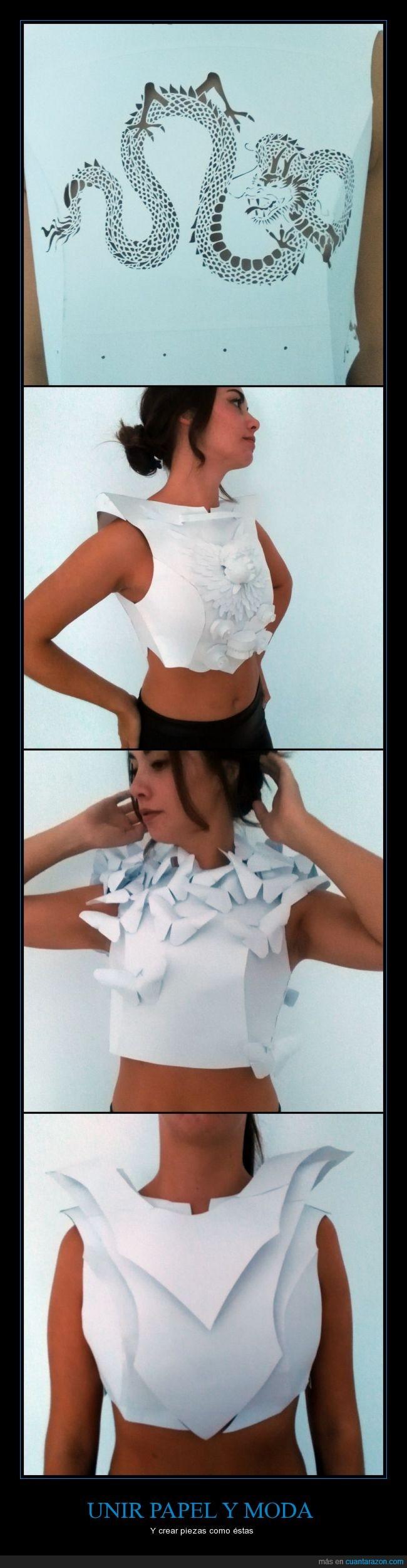 fashion,kirigami,moda,modelo,papel,papiroflexia