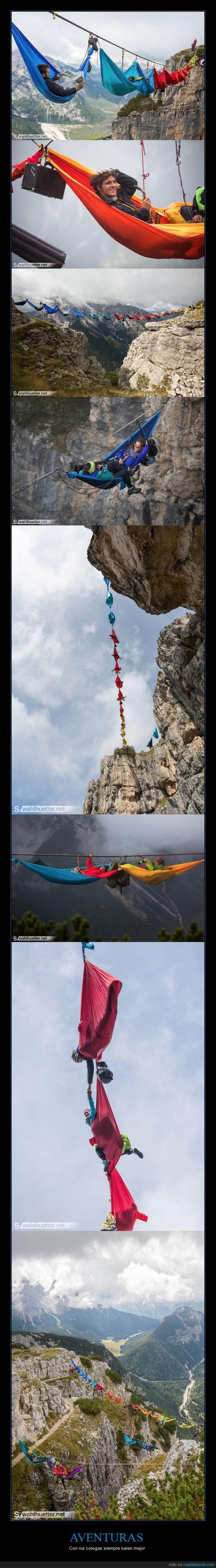 adrenalina,alturas,amigos,aventuras,bombas,escalada,fotos,monte piana