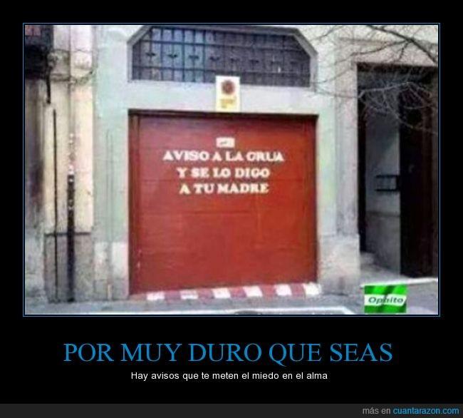 advertencia,aparcamiento puerta,estacionamiento,parking,Portón,salida