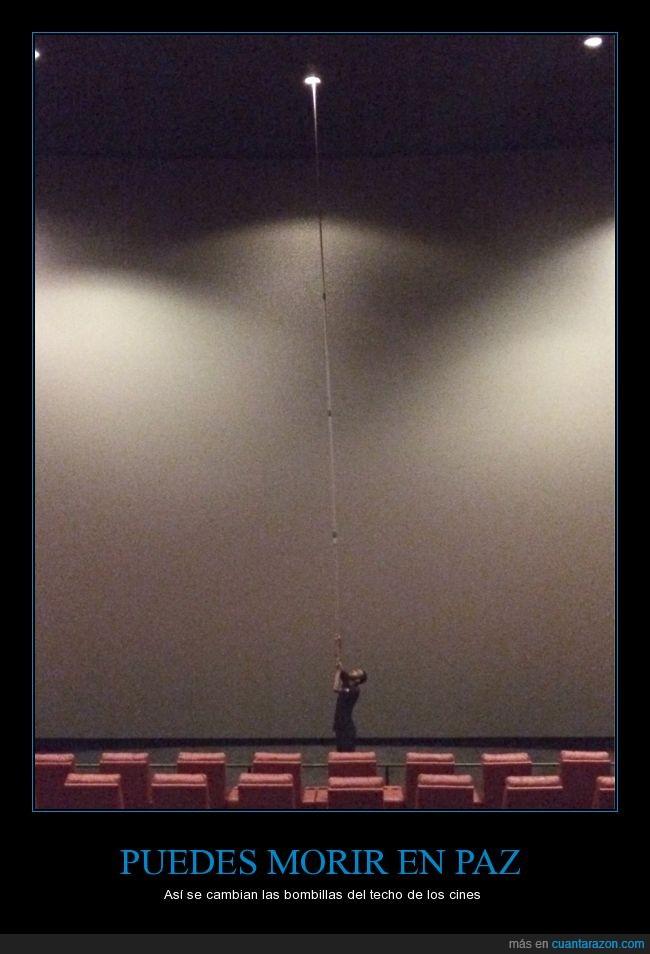 altura,bombillas,Cine,focos,lejos,palo,subir