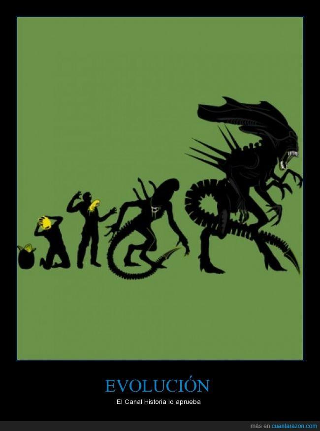 aliens,evolución,huevo,humanidad,xenomorfos