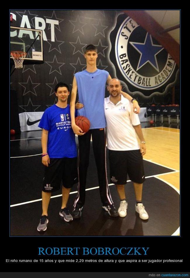 15 años,baloncesto,basket,Increíble,niño,Robert Bobroczky