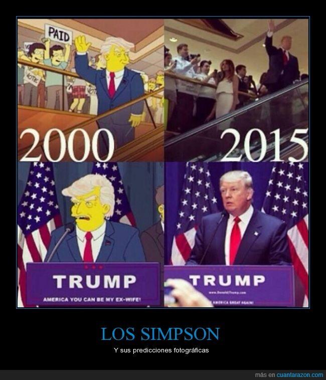 Donald Trump,EEUU,elecciones,Estados Unidos,los simpson