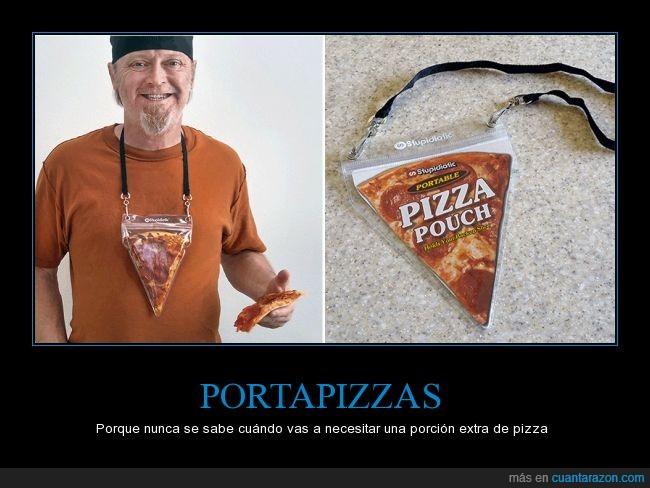 colgar,collar,cuello,pizza,plástico,porción,portapizzas,trozo