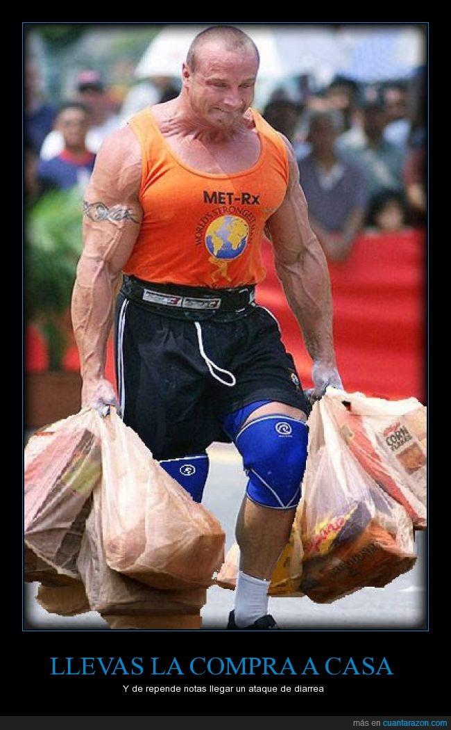 bolsas,compra,Corn Flakes,Fisicoculturista,halterofilia,humor,mandado esfuerzo,photoshop