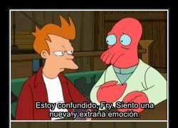 Enlace a El amor según Futurama