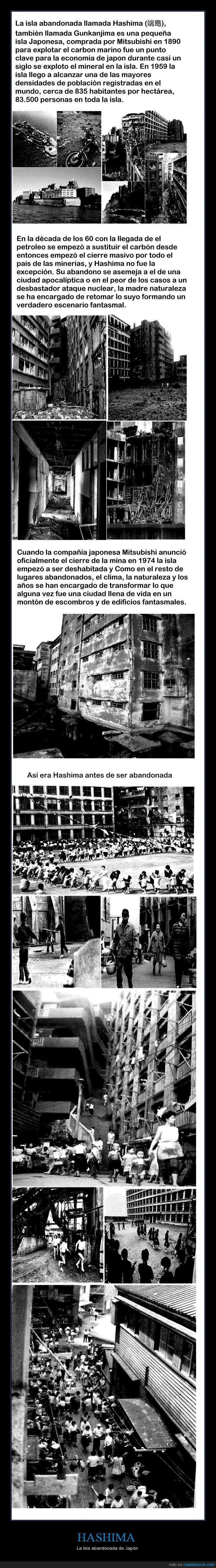 abandonada,abandonar,abandono,carbon,ciudad fantasma,fabrica,Hashima,isla,Japón,Mitsubishi