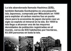 Enlace a ¿Qué pasó en la ciudad japonesa de Hashima?