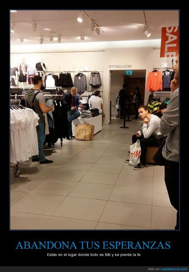 almacenes,amigo,boutique,damas,espera,esperar,guardarropa,novio,probador,tienda,Vestidores