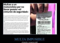 Enlace a MULTA IMPOSIBLE