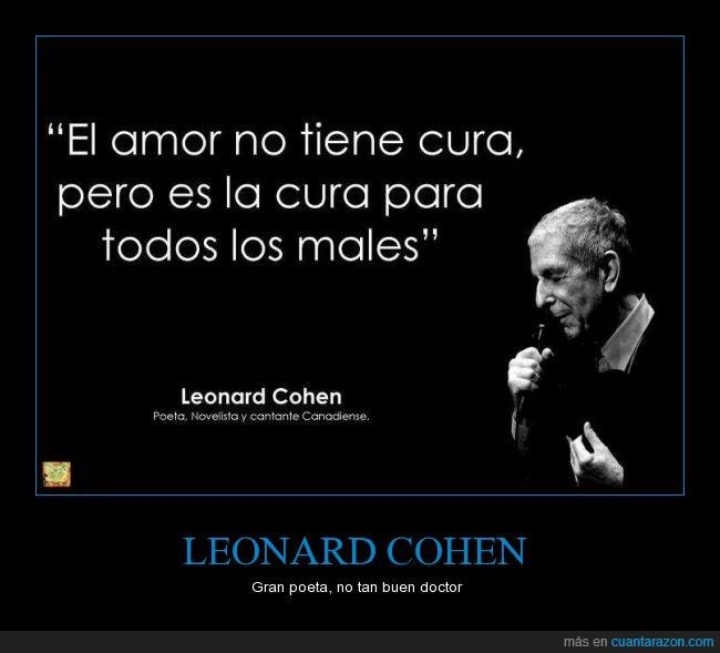 amor,cura,Leonard Cohen