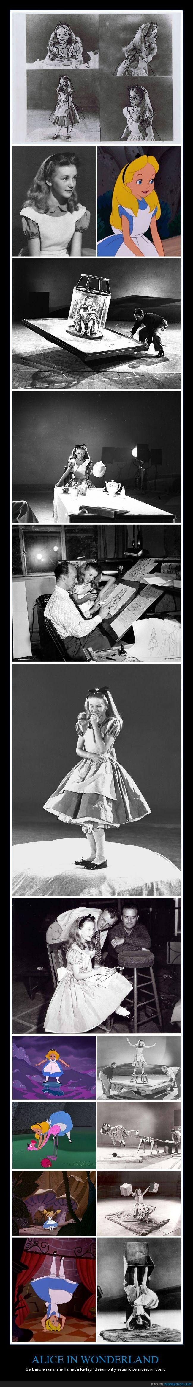 actriz,Alice in wonderland,alicia,Alicia en el país de las maravillas,cajas,Kathryn Beaumont,modelo,Walt Disney