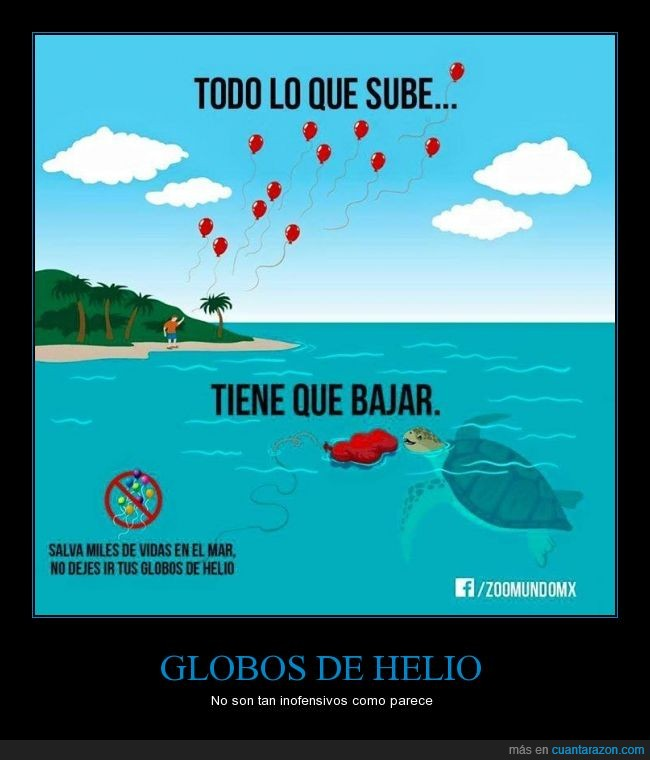 contaminación,fiesta,globos,helio,las tortugas piensan que son medusas y se los comen,tortugas,vida marina