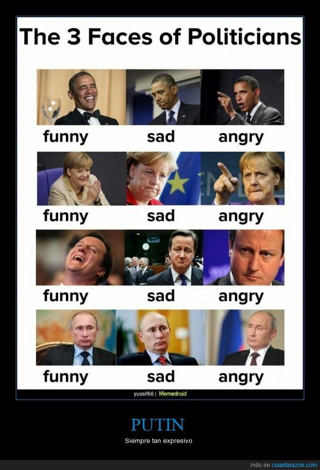 cara,expresividad,merkel,Obama,Putin