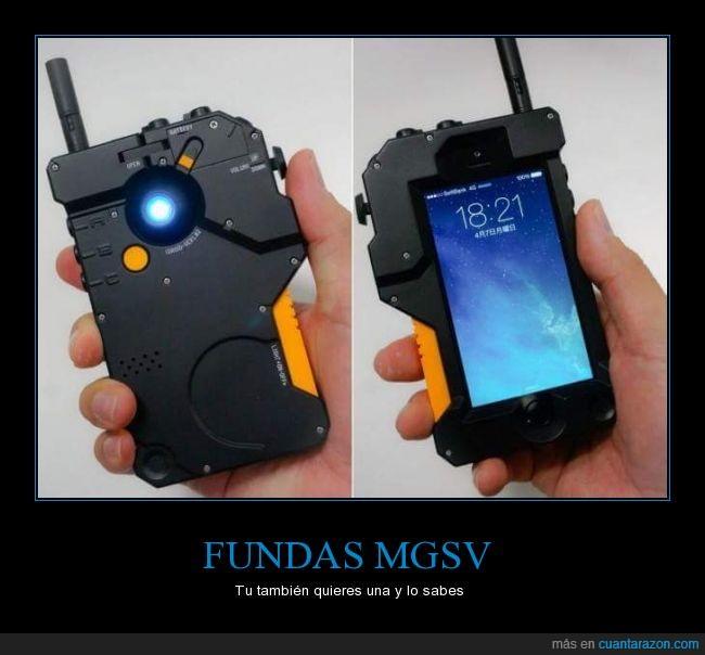 Fundas,metal gear,Metal gear solid V,mgsv,mgsvtpp,móvil