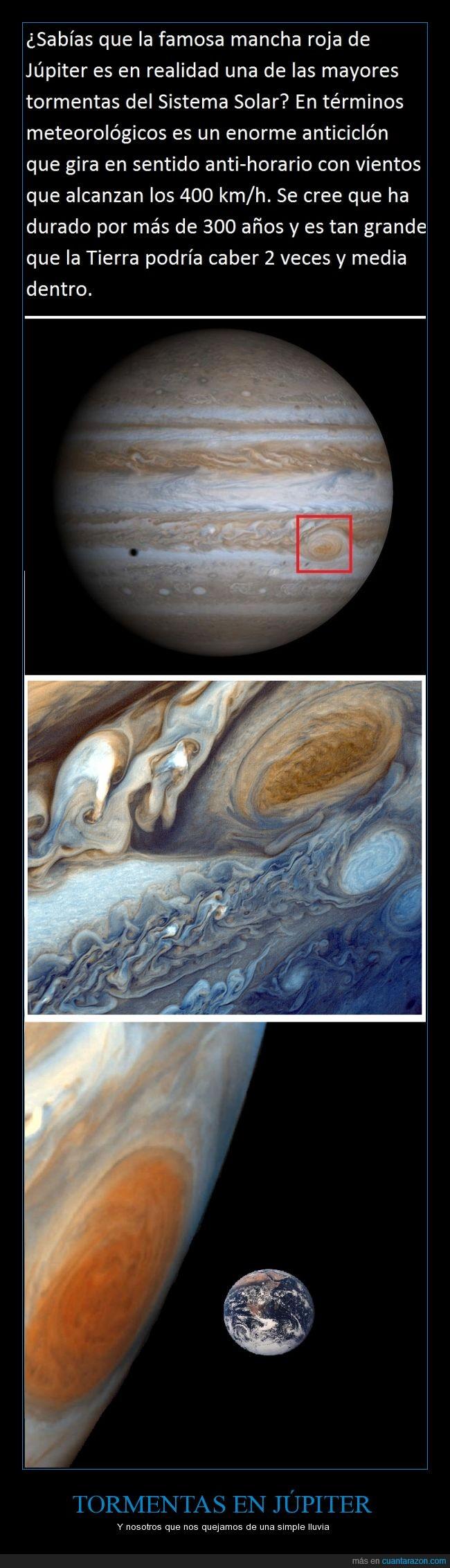 Anticiclón,Curiosidad,Júpiter,Sistema Solar,Tormenta,Vientos de 400 km/h