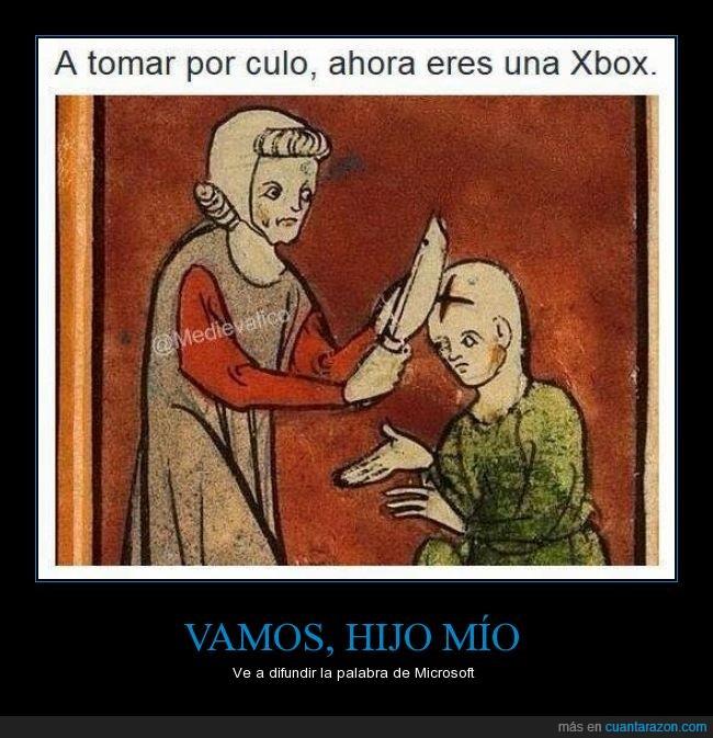 cabeza,calvo,cuchillo,equisbocs,marcar,medieval,x,xbox