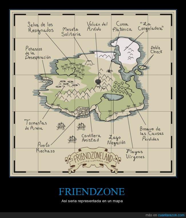 amor,cosas,friendzone,isla,mapa,pagafantas