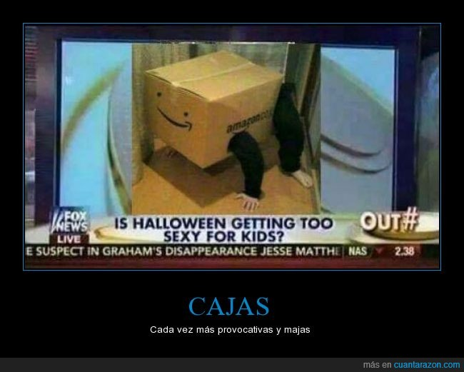 amazon,caja,halloween,niños,provocativa,provocativo
