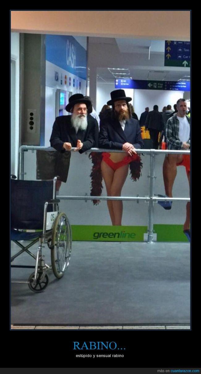 cartel,coincidencia,judío,lugar equivocado,piernas,Propaganda,rabino