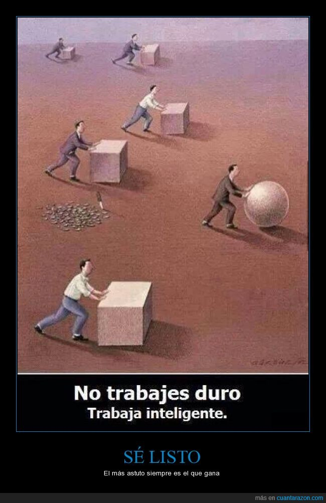 astuto,cortar,esfera,facil,ganar,inteligentemente,mover,pelota,piedra,roca,rodar,tallar