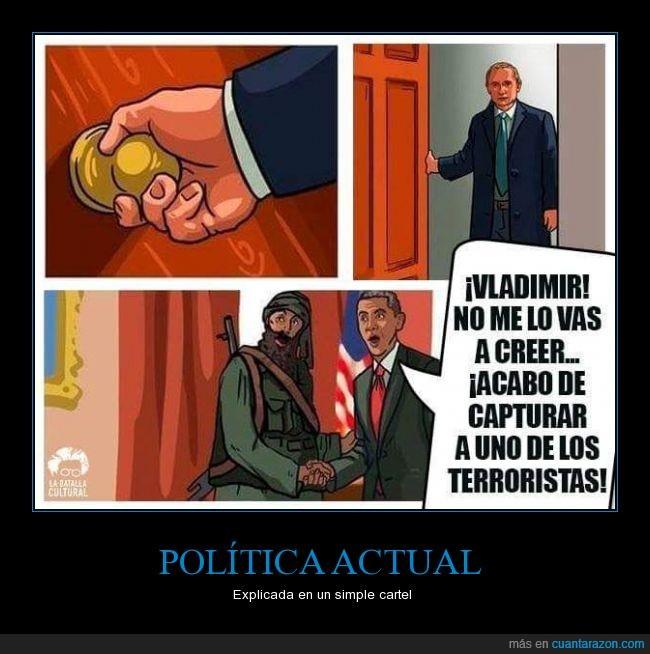 amistad,Obama,pentágono,putin,Rusia,terrorismo