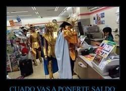 Enlace a CUADO VAS A PONERTE SALDO