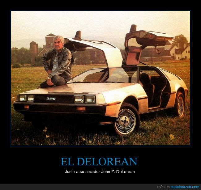 21 de octubre de 2015,b2tf day,back to the future,bttfday,coche,DeLorean,delorean time machine,Doc,John DeLorean,maquina del tiempo,Marty McFly,Regreso al futuro