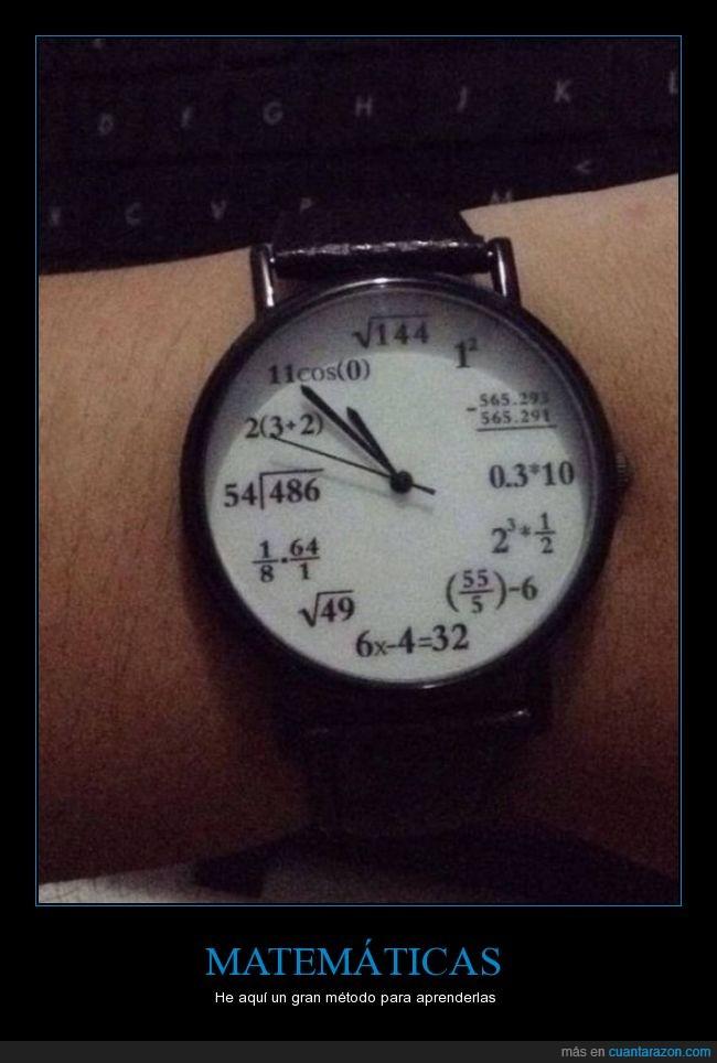 aprender,hora,Matemáticas,métodos,número,operación,raiz cuadrada,reloj
