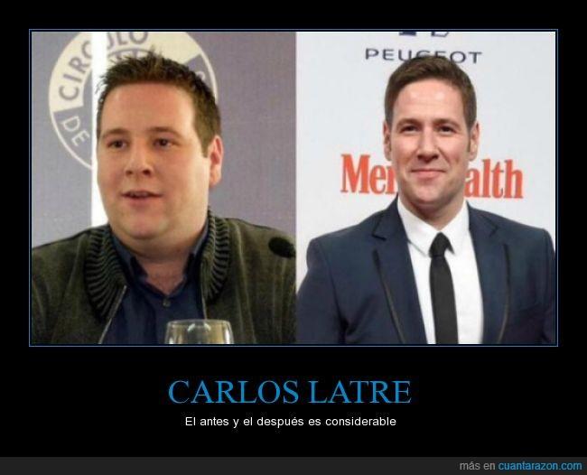 adelgazar,Carlos Latre,perder,peso