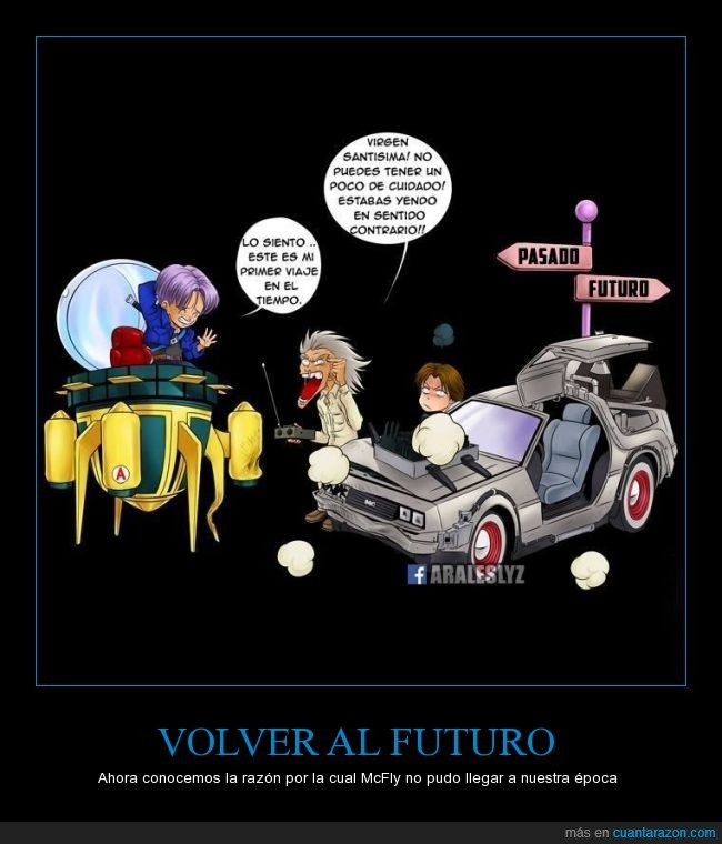 accidente,back to the future,delorean,dragon ball,futuro,octubre,regreso al futuro,tiempo,trunks