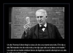Enlace a Madre no hay más que una y a Edison le encontré en la calle