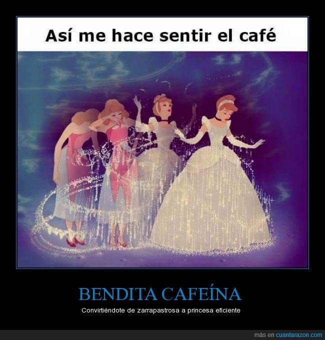 cafe,cafeina,cenicienta,disney,princesa,sentir