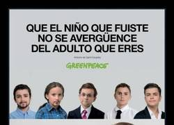 Enlace a Greenpeace le da donde más les duele a los políticos