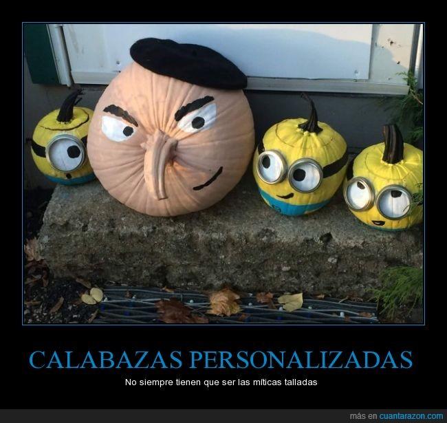 Calabaza,Gru,Halloween,mi villano favorito,minion,película
