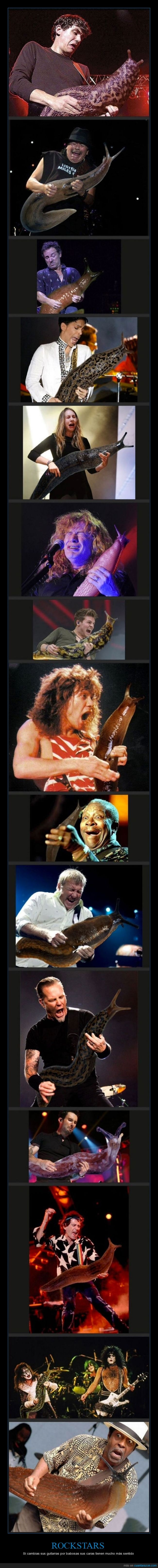 asco,Baba,cambiar,cara,caracoles,guitarra,rockstar