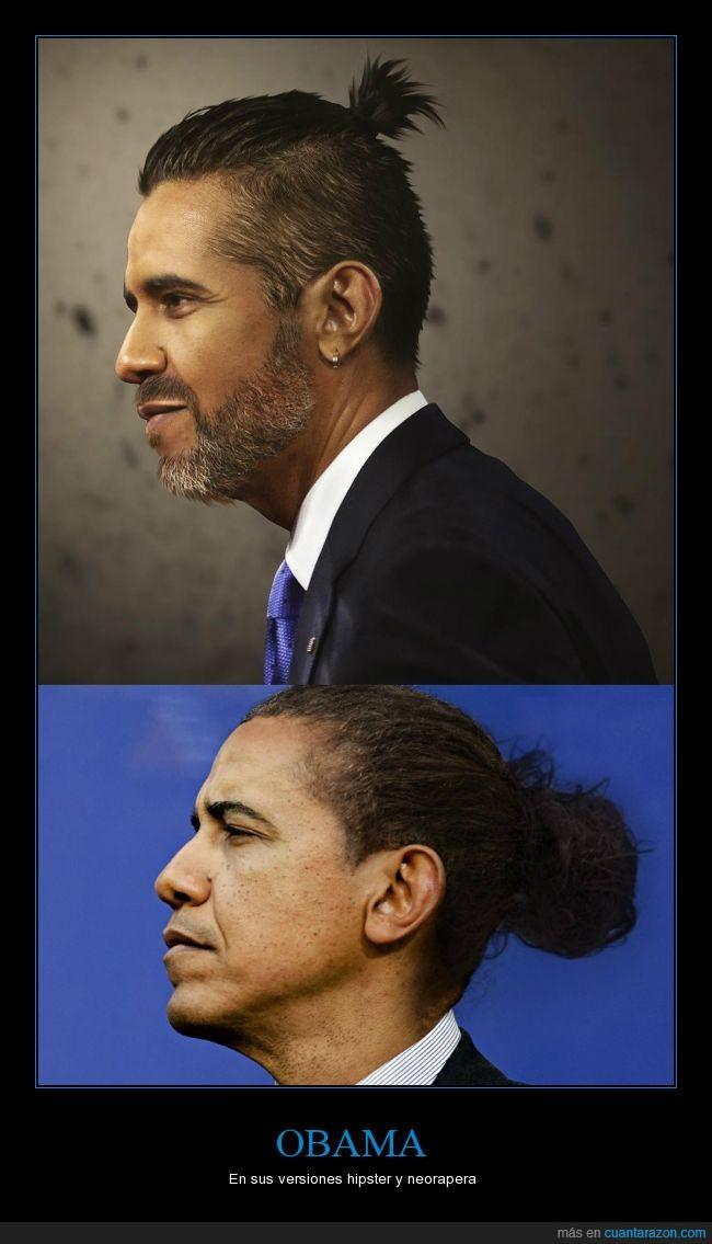 coletilla,estilo,hipster,largo,melena,neorapero,Obama,pelo
