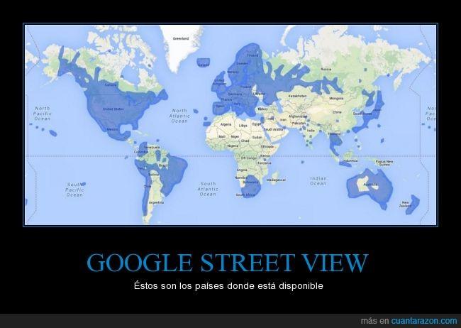 azul,continentes,google,google street view,mapa,mundo,paises,zona