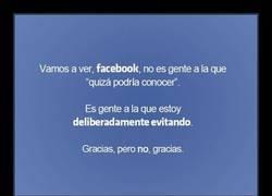 Enlace a Facebook, en serio, ¡NO QUIERO AGREGARLES!