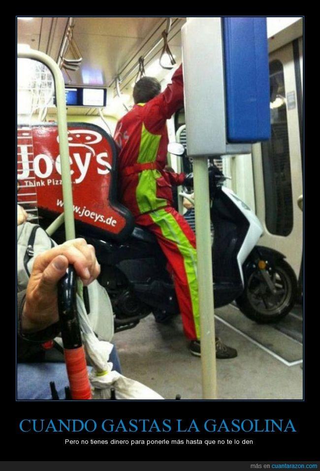 bus,joeys,metro,Moto,pizza,publico,repartidor,transporte,tren