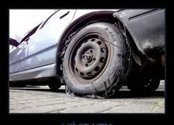 Enlace a ¿Por qué se han quedado así estas ruedas?